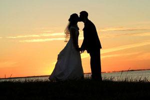 wedding-sunset